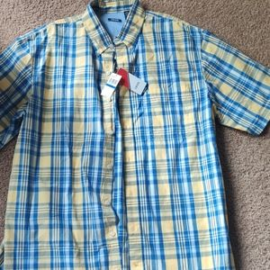 New mens T  Izod button up